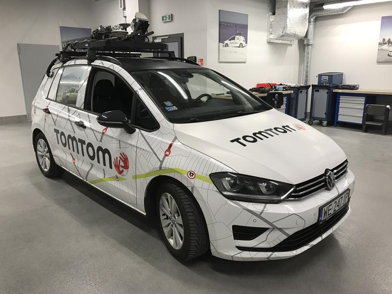 TomTom korzysta z samochodów popularnych marek, by w razie problemów był łatwy dostęp do serwisu