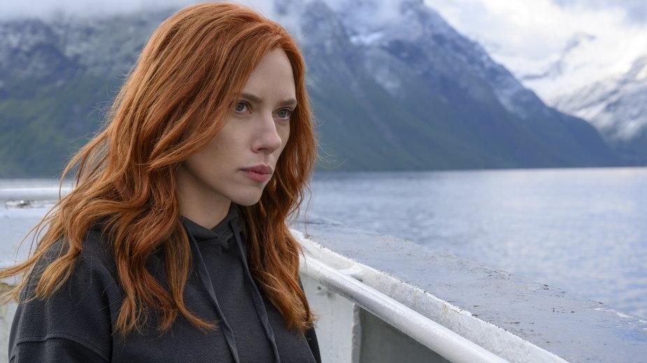 """Scarlett Johansson w filmie """"Czarna Wdowa"""""""