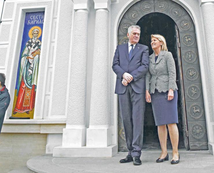 Dragica i Tomislav Nikolić