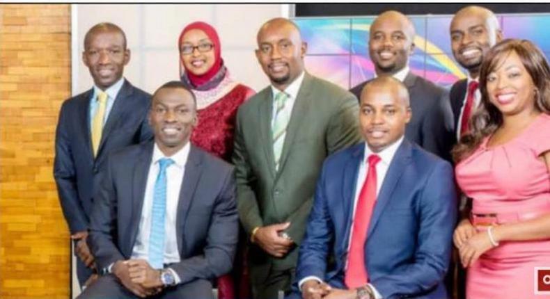 NTV news anchors