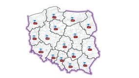 Na interaktywnej, internetowej mapie znajduje się już ponad 84 tys. polskich zabytków
