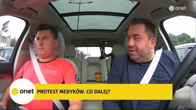 Michał Drożdż: Chory pracownik karetki często jeździ podłączony do kroplówki, bo jak nie stawi się na dyżur, musi zapłacić karę umowną