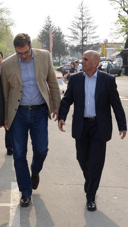Zlatko Šulović sa Vučićem, foto privatna arhiva