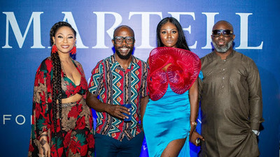 """An evening of high fashion, glitz & glamour at the """"Orient of Africa"""" unveiling in partnership with Martell"""