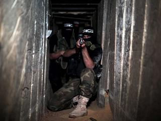 Emplacements and Tunnels of Izz ad-Din al-Qassam Brigades in Gaza's Shujaya