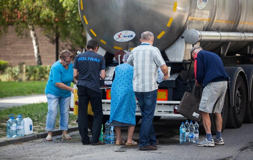 Katowice. Skażona woda bakteriami coli w Zebrzydowicach, w Bytomiu mętne osady