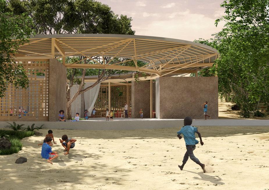 Circle of Life. Zaprojektowali budynek edukacyjny dla dzieci z Kenii