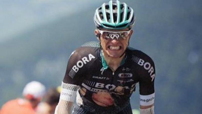 Rafał Majka po kraksie w czasie Tour de France / zdjęcie z profilu zawodnika