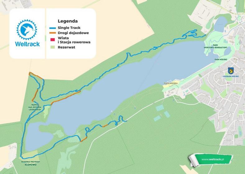 Otwarto trasę rowerową wokół jeziora Lidzbarskiego - Podróże