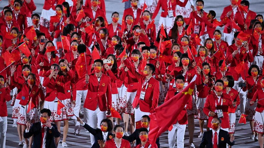 Reprezentacja Chin na igrzyskach w Tokio