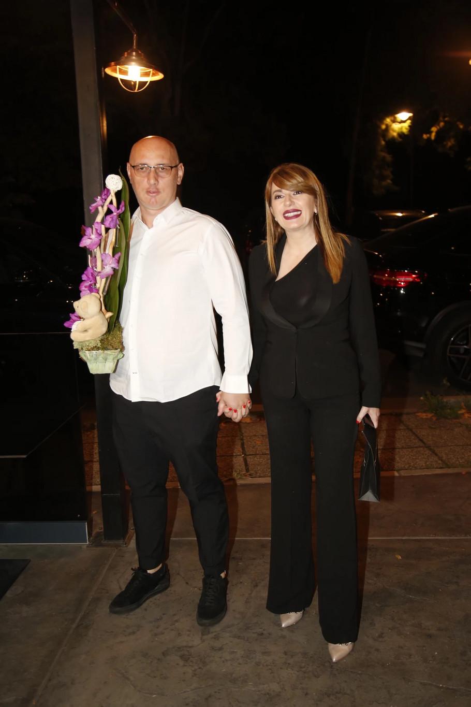 Viki Miljković sa suprugom