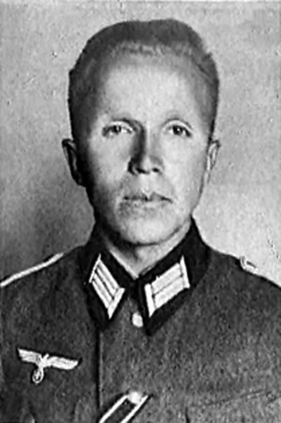 Nikolaj Kuznjecov u nemačkoj uniformi, u danima kada se pretvarao da je nacista Paul Zajbert