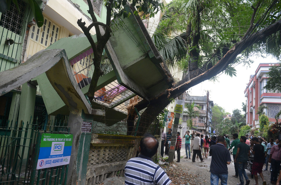 INDIA-DISASTER-EARTHQUAKE