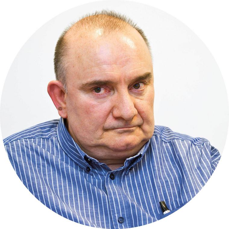 Wojciech Perliński prezes Stowarzyszenia 304 KK