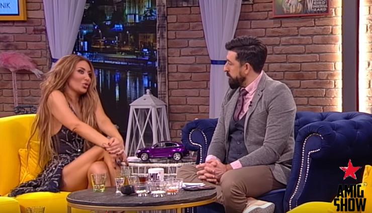 Ana Nikolić i Ognjen Amidžić