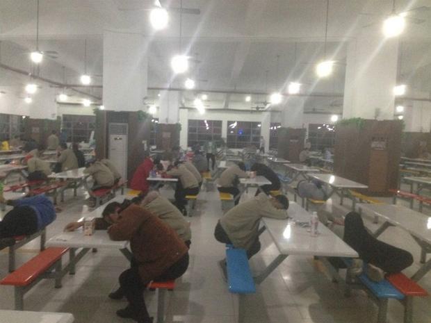 Pracownicza stołówka w parku technologicznym w Suqian
