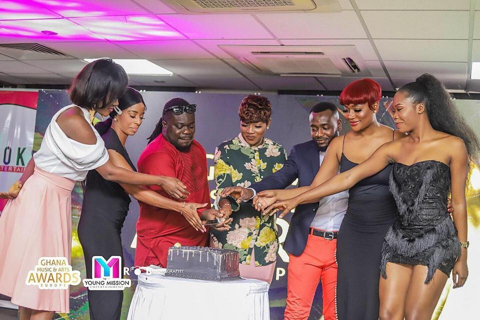 Maiden Ghana Music & Arts Awards Europe 2019 launched in Accra