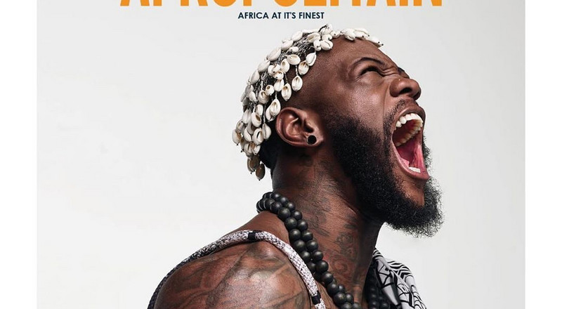 Deontay Wilder is the definition of a warrior on the cover of Afropolitain Magazine's latest issue