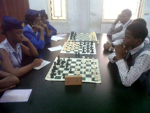 Secondary School Students at the International Schools Chess league. (Guardian NG)