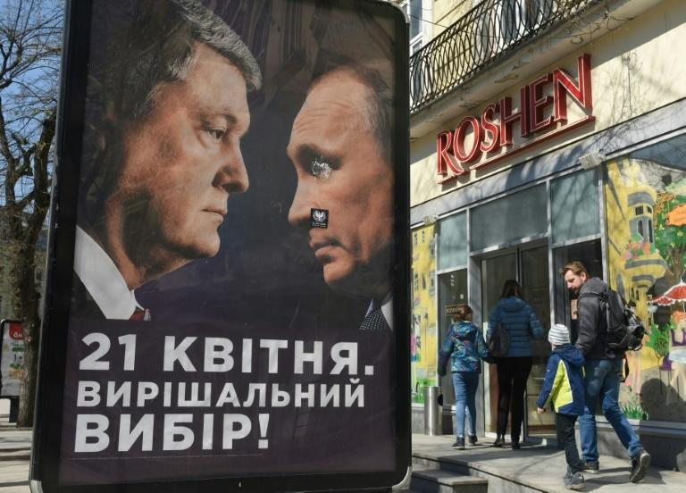 Poroshenko has cast himself as the only Ukrainian politician who can take on Russian President Vladimir Putin