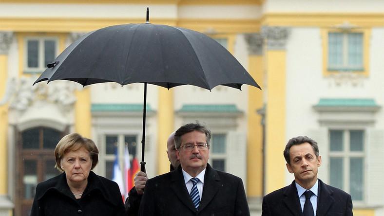 Dlaczego Sarkozy mókł w Wilanowie? Nowak wyjaśnia