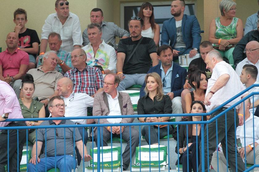Wojciech Fibak fanem żużla
