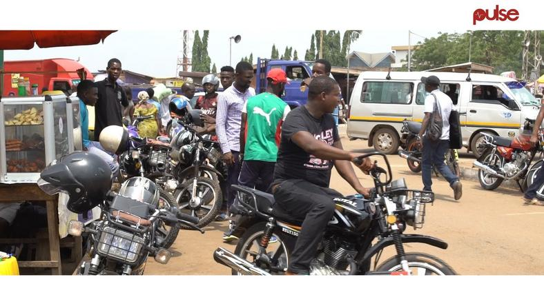 Commercial motorcyclists, Police clash in Abuja (Illustration)