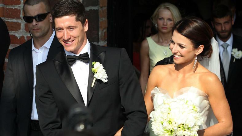 Robert Lewandowski I Anna Stachurska ślub Piłka Nożna