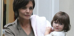 O matko! Tom Cruise bił Katie?