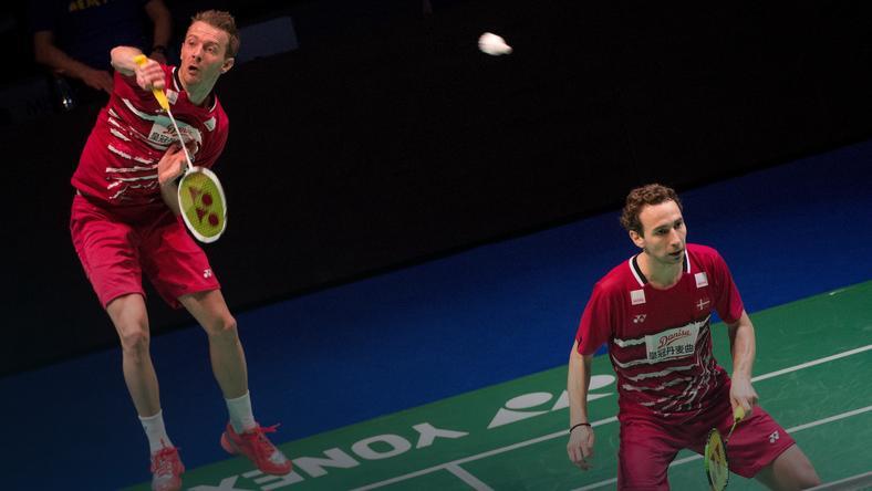 Mathias Boe (P) i Carsten Mogensen
