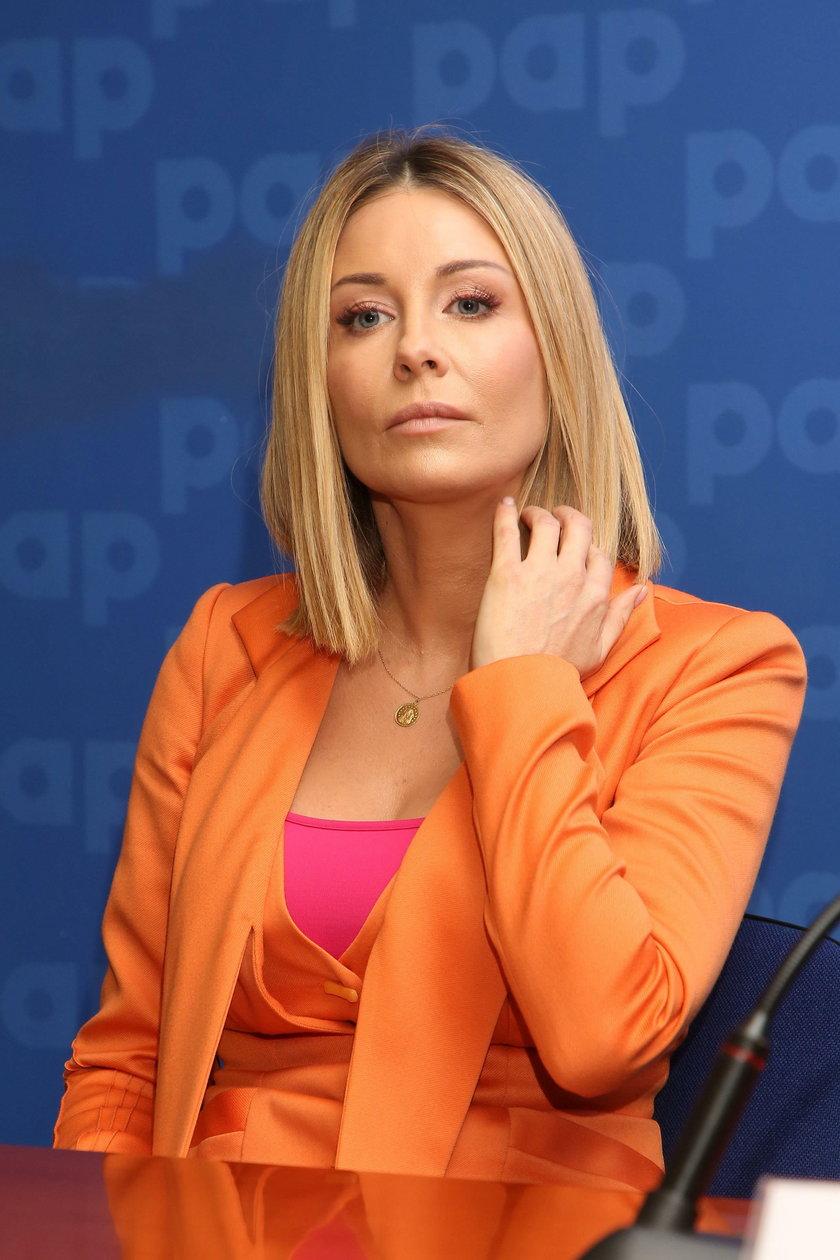 Małgorzata Rozenek-Majdan broni protestujących