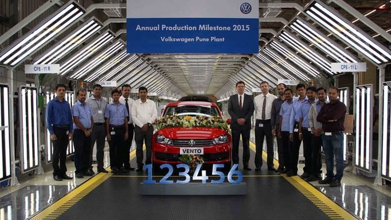 Volkswagen German automaker achieves best production results