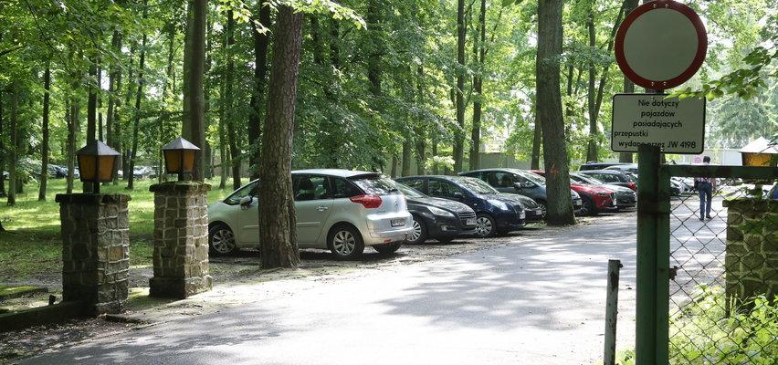 Wojsko idzie na wojnę z drzewami, bo... chce mieć parking! Szykuje się wielka wycinka w Lesie Kabackim