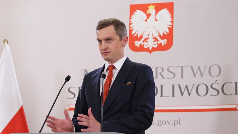 Sekretarz stanu w MS Sebastian Kaleta