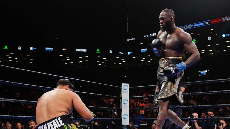 Deontay Wilder vs Breazeale
