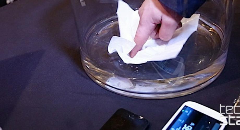 CES 2014: Zaubertricks und wasserdichte Handys