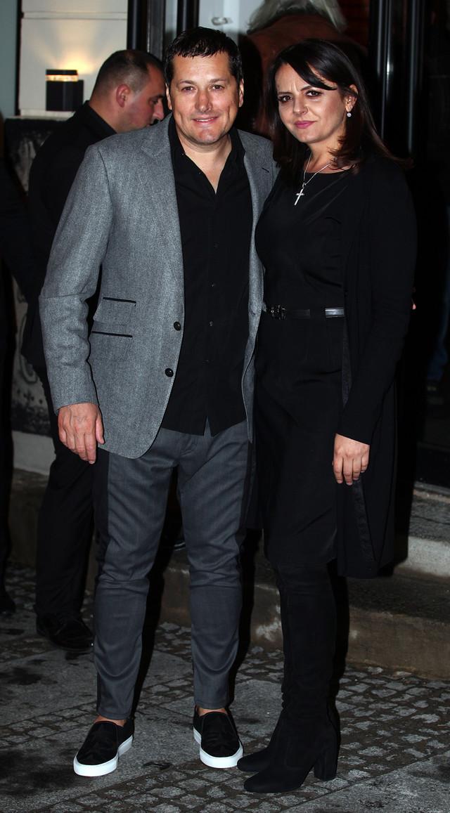 Aco Pejović sa suprugom Biljanom
