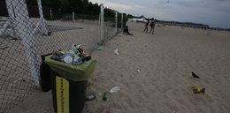 Bałagan na plażach!