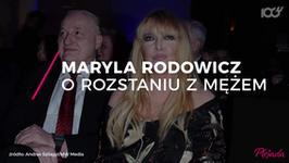 Maryla Rodowicz: upłynęło prawie pół roku, od kiedy mąż się wyprowadził