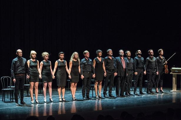 """Teatr Pieśń Kozła - spektakl """"Pieśni Leara"""" - występ w Harman Center for the Arts w Waszyngtonie - fot. Kevin Allen"""