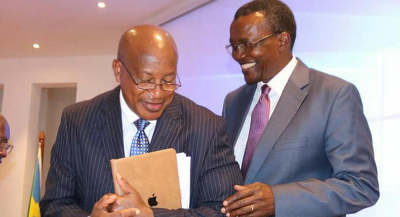 AG Paul Kihara and CJ David Maraga.