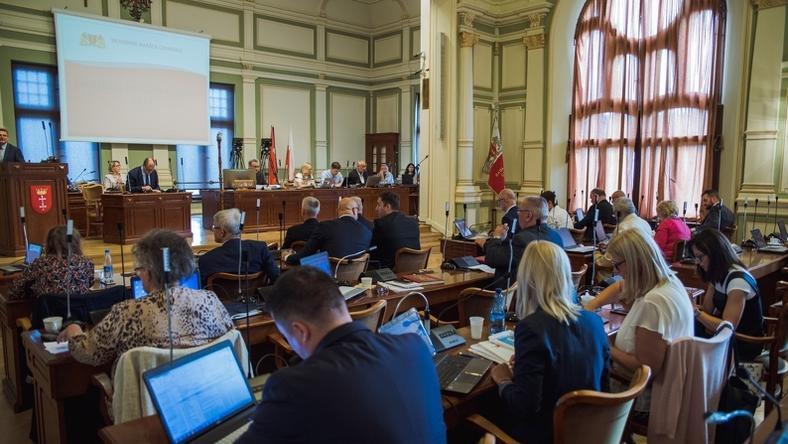 Głosowanie nad zmianami nazw ulic miało miejsce na wczorajszej sesji Rady Miasta w Gdańsku