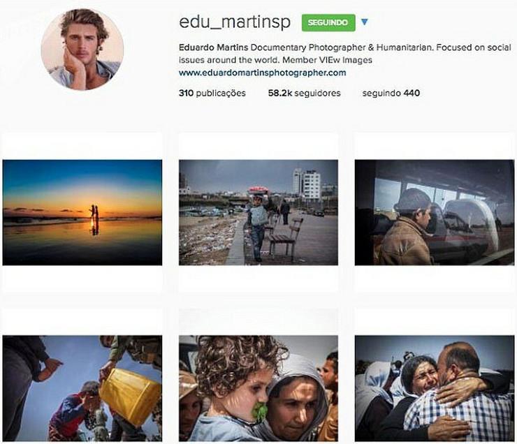 Lažni profil Eduarda Martinsa