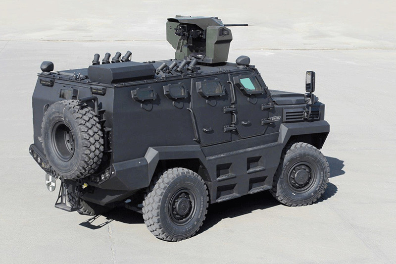 KDF set to acquire 118 Hizir 4x4 Tactical Wheeled Armored Vehicles