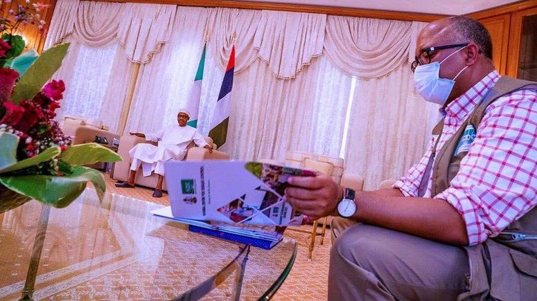 Coronavirus: I'm personally proud of you - Buhari tells Ihekweazu ...