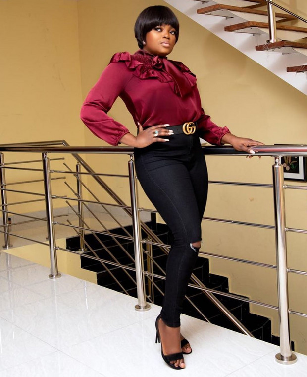 Funke continued her consistency in her career in the 2010s to validate her status as a Nollywood legend. [Instagram/FunkeJenifaAkindele]