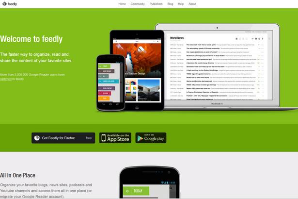 Feedly Kategoria: Narzędzia sieciowe Feedly, to świetne narzędzie do organizowania, czytania i dzielenia się najciekawszymi informacjami znalezionymi w sieci. http://www.feedly.com/