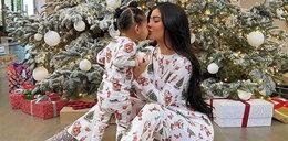 Szok! Co celebrytka dała 2-letniej córce pod choinkę?