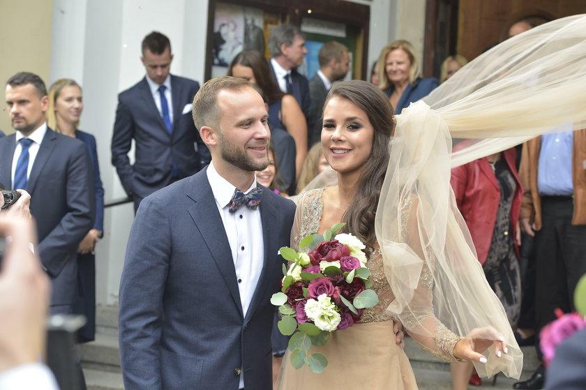 Anna Korcz z mężem