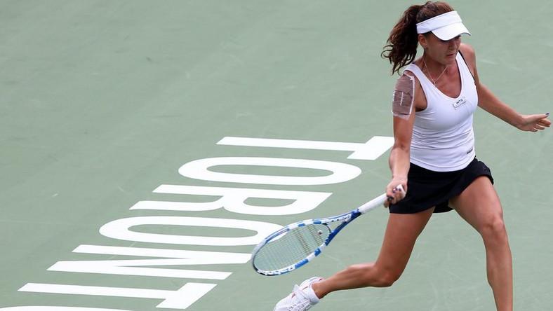 Turniej WTA w Toronto - Radwańska w półfinale